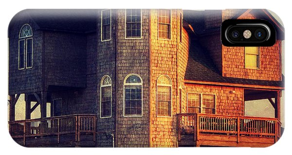 House In Rodanthe At Sunset IPhone Case
