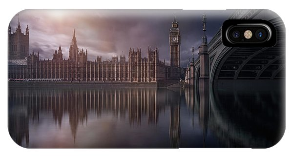 London iPhone Case - House Of Parliament by Iv?n Ferrero