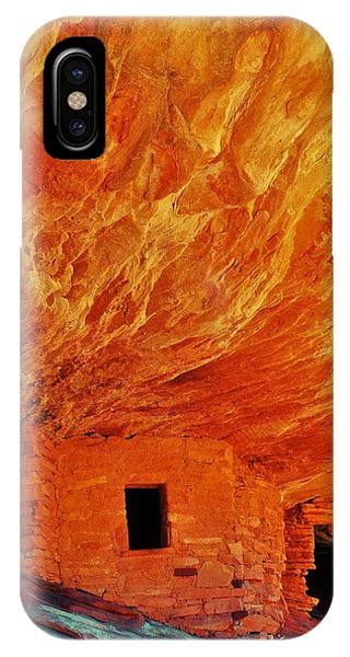 House On Fire IPhone Case