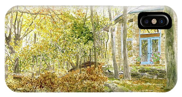 House On Grandmother Mountain - Golden Moments  IPhone Case