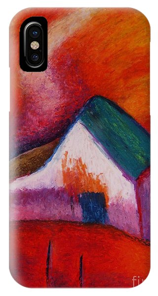 House On The Hillside IPhone Case