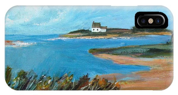 House On The Point IPhone Case