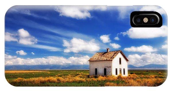House On The Prairie IPhone Case