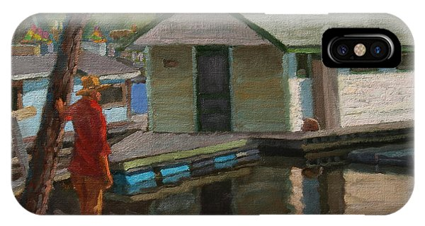 Houseboat On The Mississippi IPhone Case