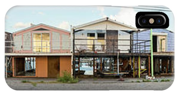 Katrina iPhone Case - Houses Destroyed After Hurricane by Panoramic Images