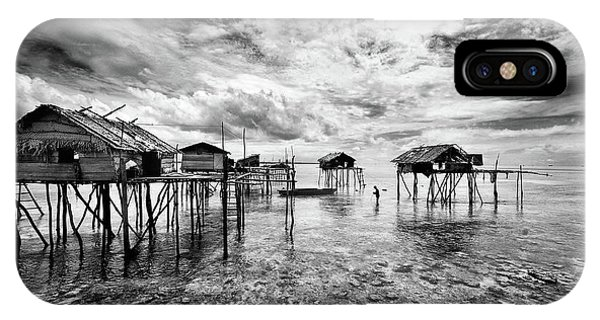 Houses  Of  The  Bajau Phone Case by Andreas Kosasih
