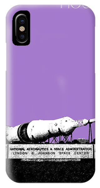 Houston Johnson Space Center - Violet IPhone Case