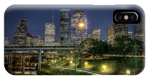 Houston On The Bayou IPhone Case