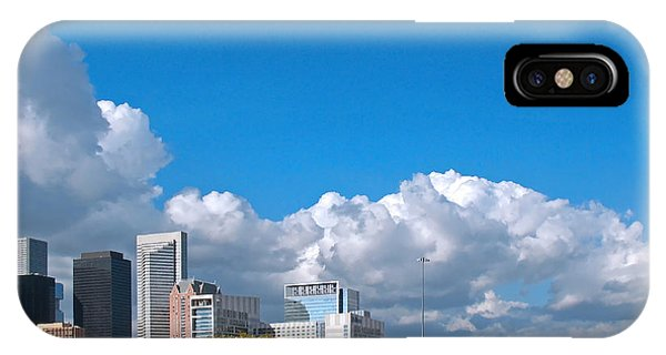 Houston Skyline Southeast IPhone Case