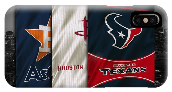 Houston Sports Teams IPhone Case