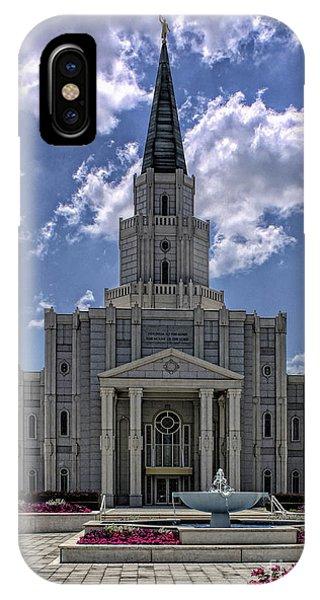 Houston Temple IPhone Case