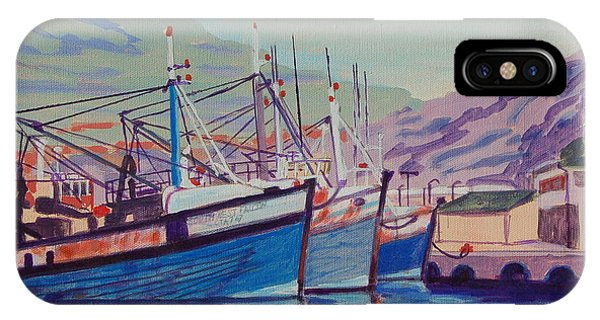 Hout Bay Fishing Boats IPhone Case