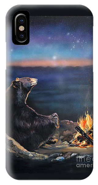 How Grandfather Bear Created The Stars IPhone Case