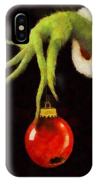How The Grinch Stole Christmas IPhone Case