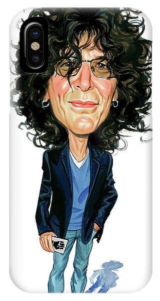 Howard Stern iPhone Case - Howard Stern by Art