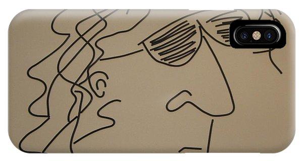 Howard Stern iPhone Case - Howard Stern by Peter Virgancz