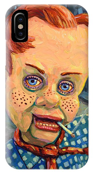Expressionism iPhone Case - Howdy Von Doody by James W Johnson