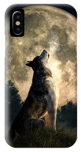 Howling Wolf IPhone Case