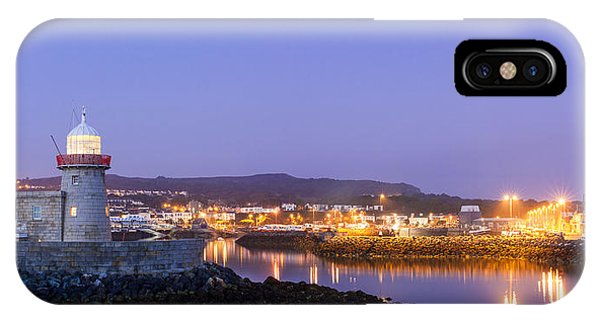 Howth Harbour Lighthouse IPhone Case