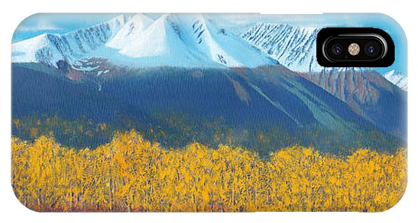 Hudson Bay Mountain IPhone Case