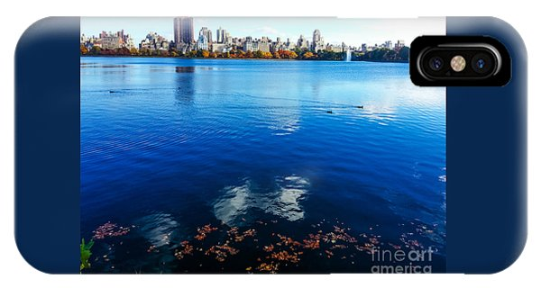 Hudson River Fall Landscape IPhone Case
