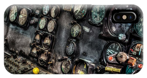 Huey Instrument Panel 2 IPhone Case