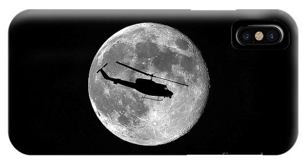 Huey Moon IPhone Case