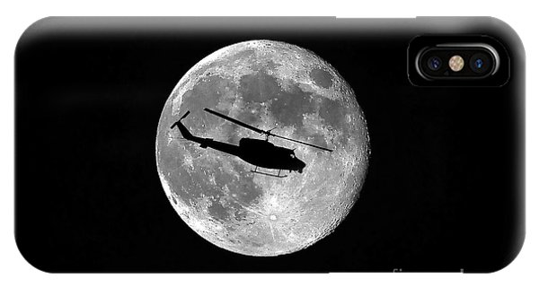 Helicopter iPhone Case - Huey Moon by Al Powell Photography USA