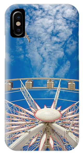 Huge Ferris Wheel IPhone Case