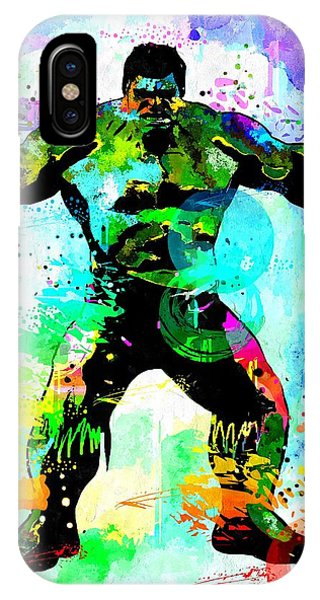 Hulk Watercolor IPhone Case