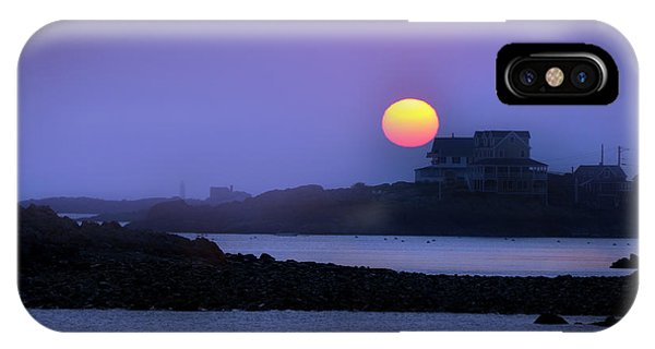 Hull Of A Sunrise IPhone Case