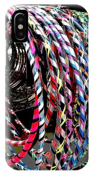 Huly Hoops IPhone Case