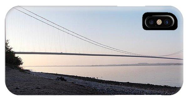 Humber Bridge Panorama IPhone Case