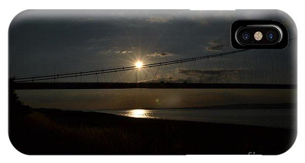 Humber Bridge Sunset IPhone Case