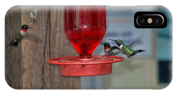 IPhone Case featuring the photograph Hummers by David Armstrong