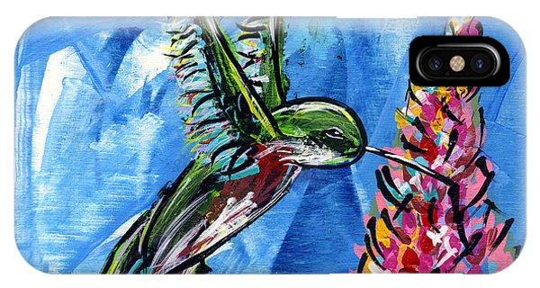 Midnite iPhone Case - Hummingbird IIi by Lovejoy
