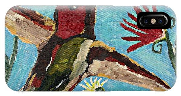 Hummingbird No. 2 IPhone Case
