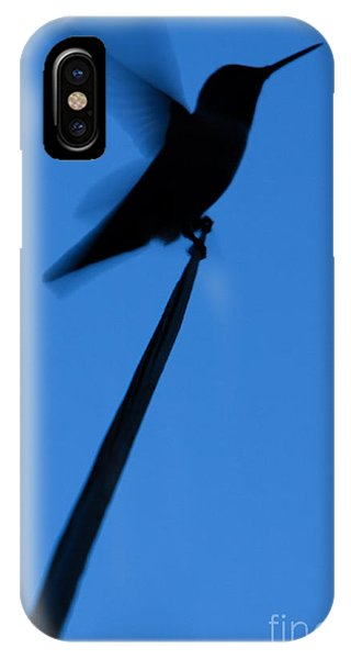 Hummingbird Silhouette IPhone Case