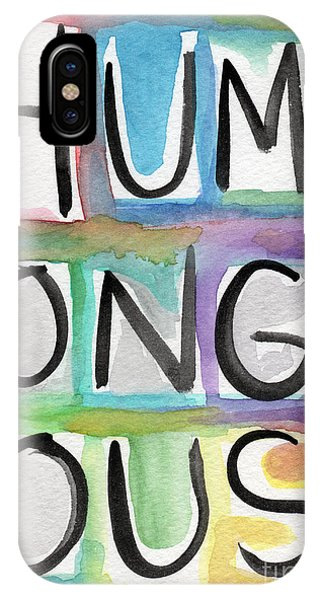 Humongous Word Painting IPhone Case