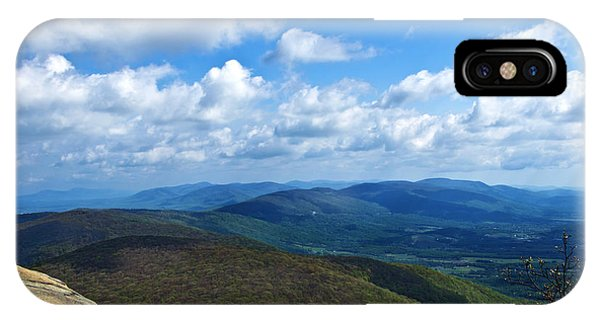Humpback Rocks View North IPhone Case