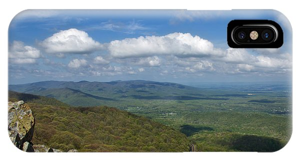 Humpback Rocks View South IPhone Case