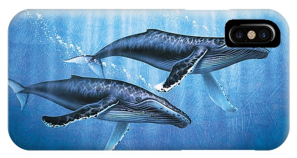Whales iPhone Case - Humpback Whales by JQ Licensing