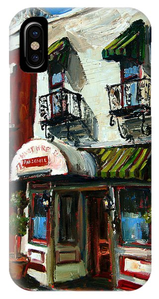 Humphreys Bar And Grill Painting By Carole Foret