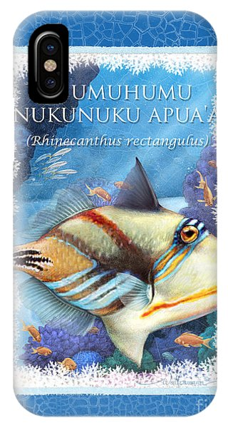 Humuhumunukunukuapua'a IPhone Case