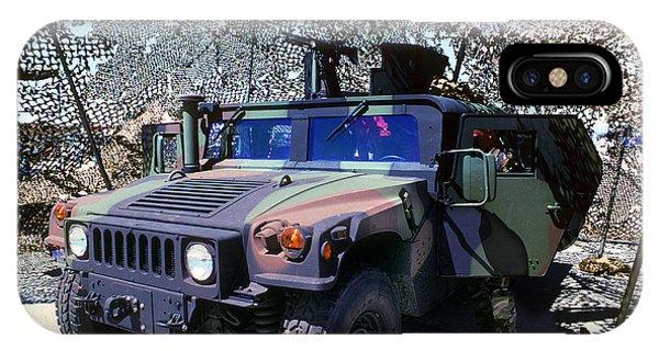 Humvee IPhone Case