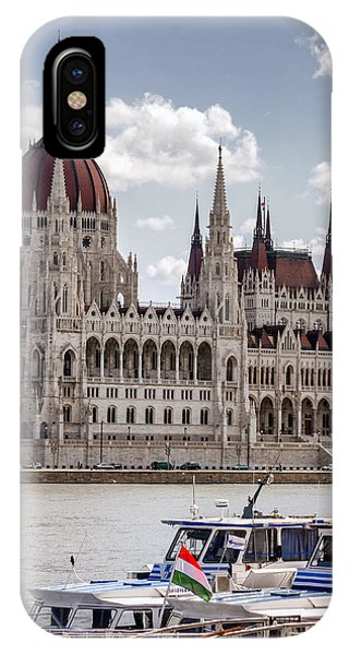 Hungarian Parliament Across The Danube IPhone Case