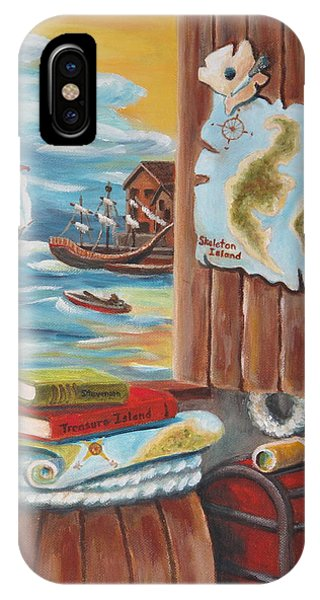 Hunt For Treasure Island IPhone Case