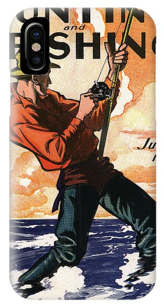 Fisherman iPhone Case - Hunting And Fishing by Gary Grayson