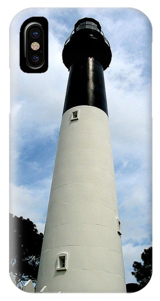 Hunting Island Lighthouse IPhone Case