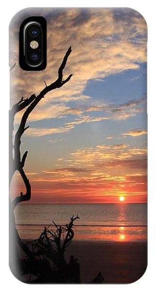 Hunting Island Sunrise IPhone Case